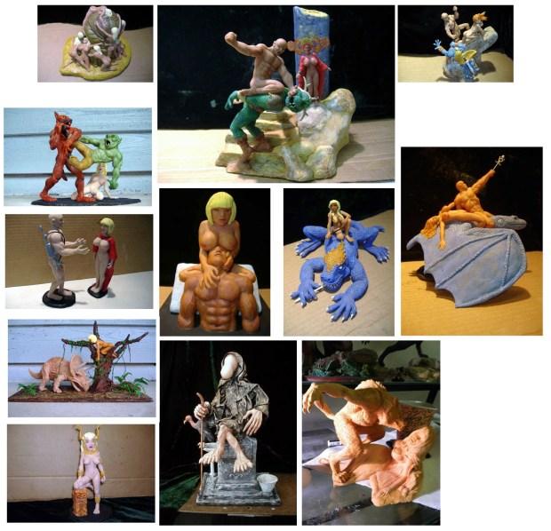 Brian Davis sculptures