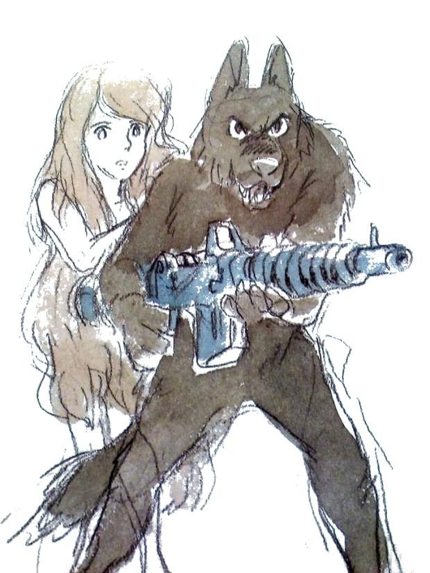 Rowlf by Hayao Miyazaki