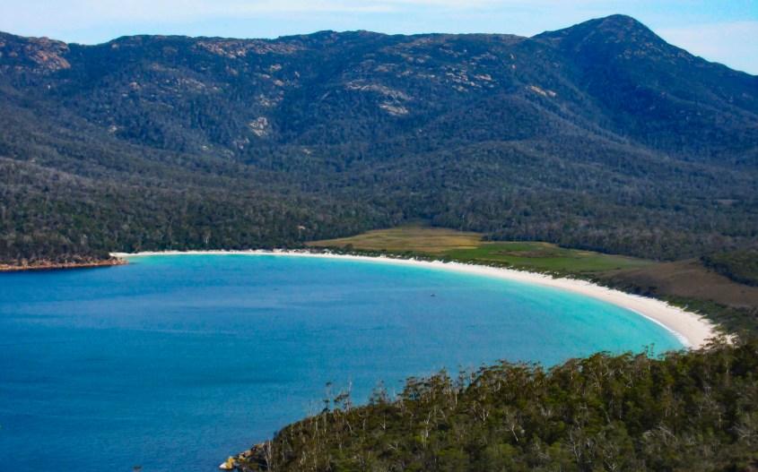 Tasmanian road trip | Wineglass Bay