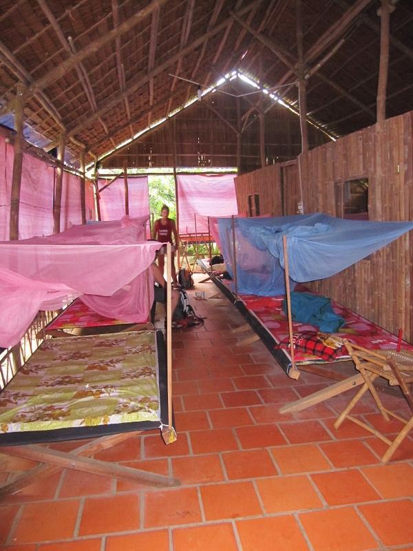 vietnamilaisessa homestayssä