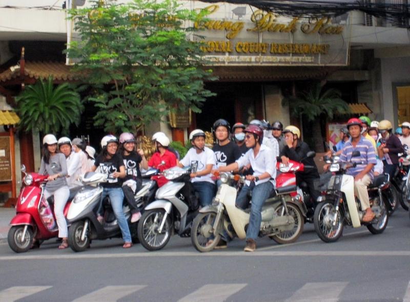 vietnamilainen liikenne