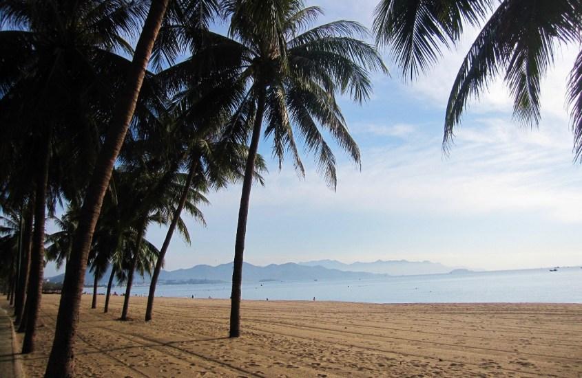 Veneilyä ja mutakylpyjä Nha Trangin rantakaupungissa