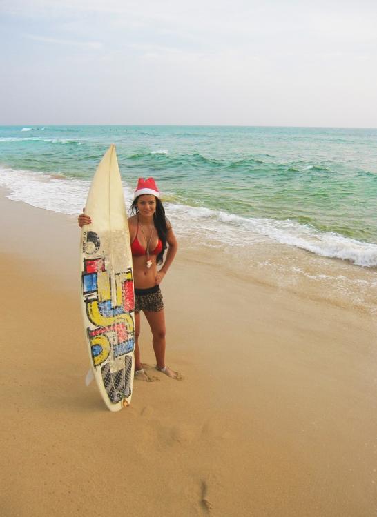 surffaamista hikkaduwalla