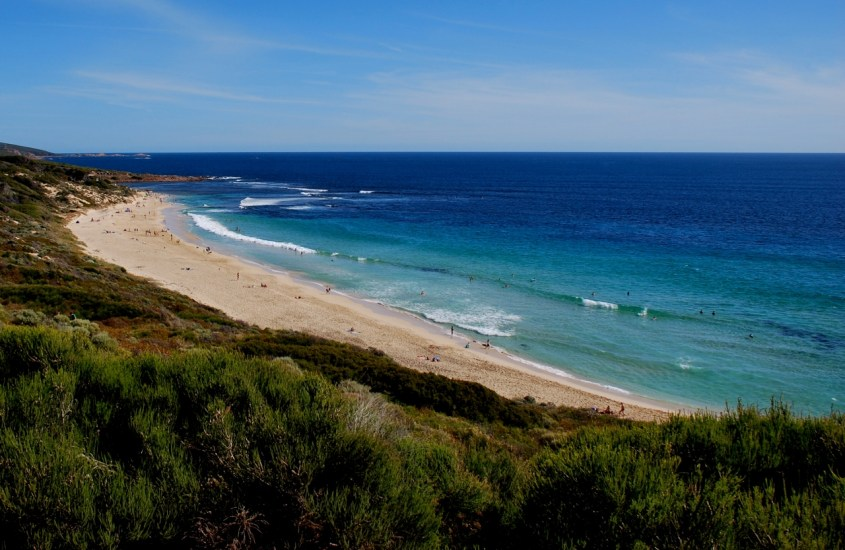 Rantaelämää Länsi-Australiassa