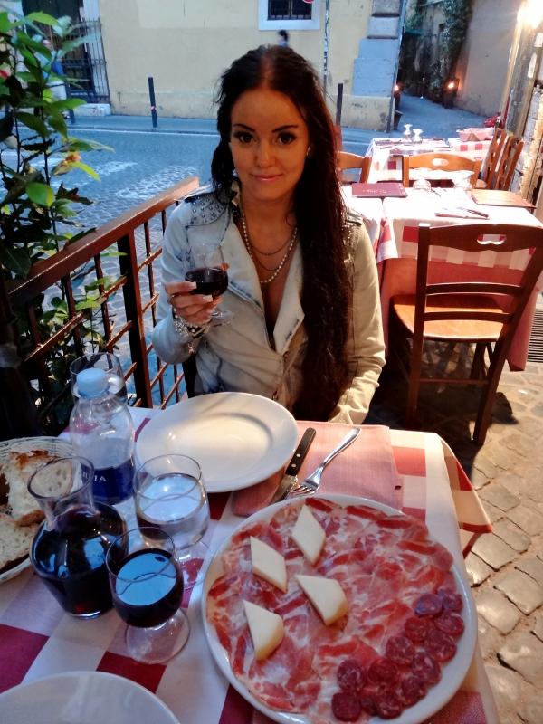 antipastilautanen Roomassa
