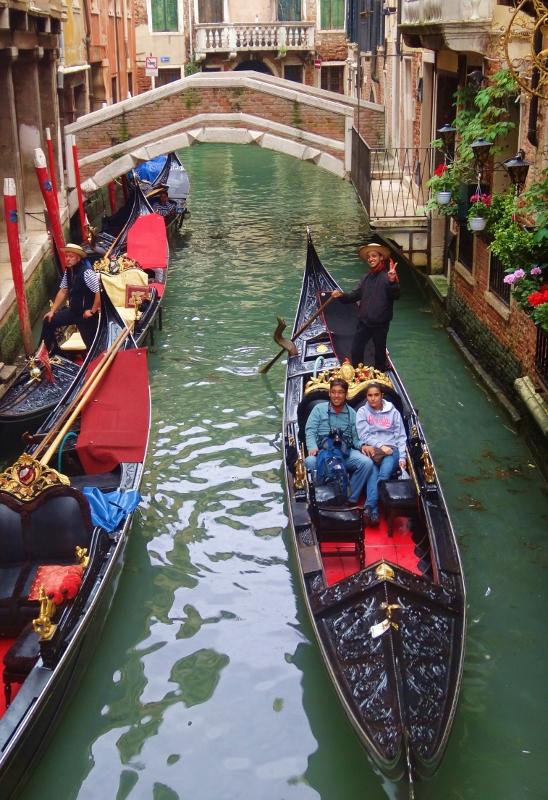 Gondoleita Venetsiassa