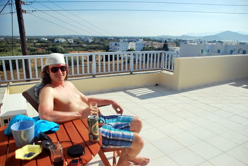 Hotellihuone Naxosilla