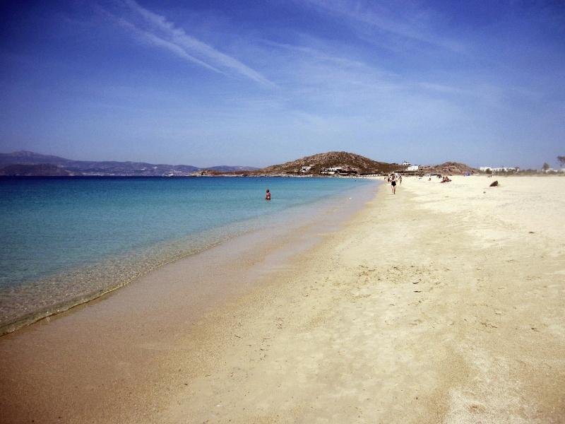 Naxos rantaa, Kreikka