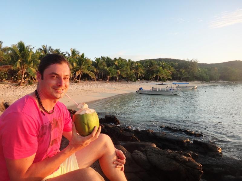 Saarihyppelemässä Fidzin Yasawa-saarilla