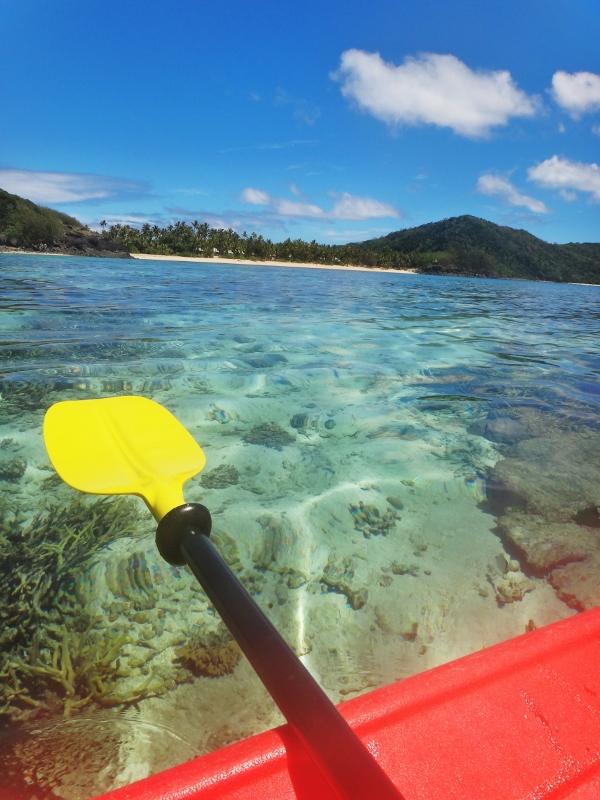 Kayaking in Barefoot Island