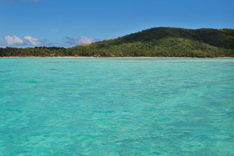 Blue Lagoon, Yasawa, Fidzi