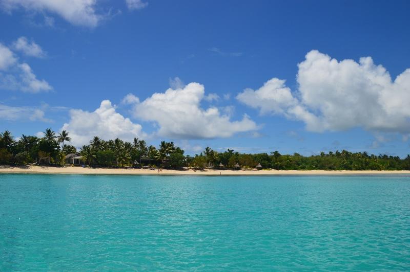 Autio palmusaari Fidzillä
