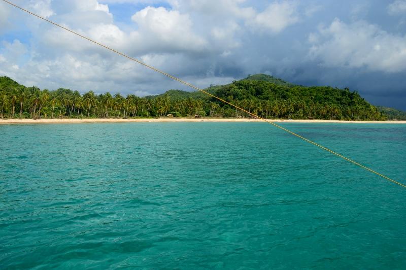 Autio palmuranta Filippiineillä