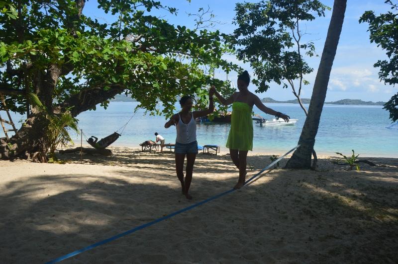 Saarihyppely Coronilta Palawanille Filippiineillä