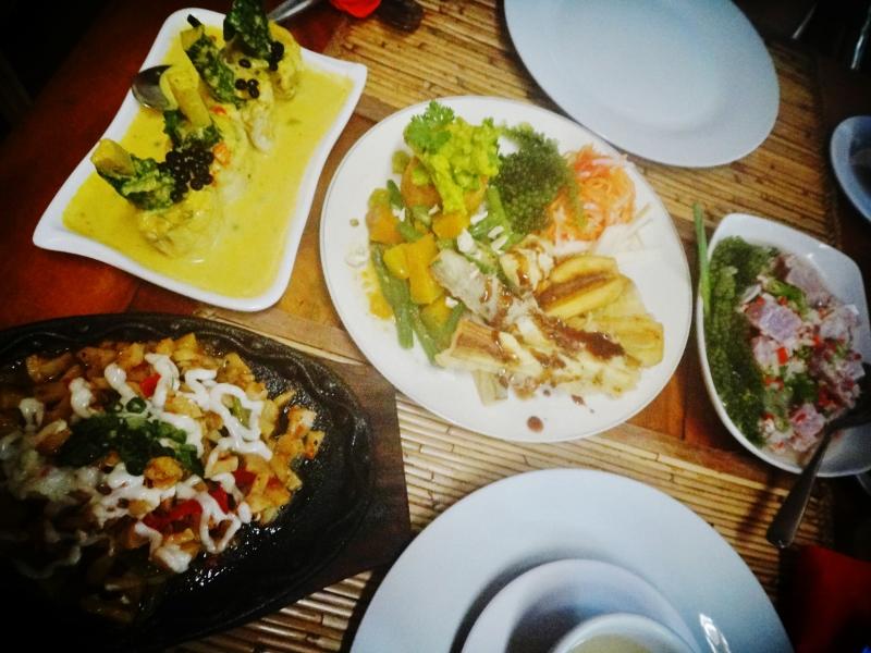 Filippiiniläistä ruokaa