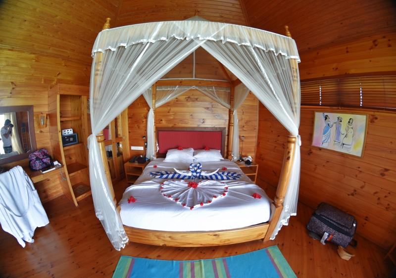 Hanimuunisviitti Malediiveilla