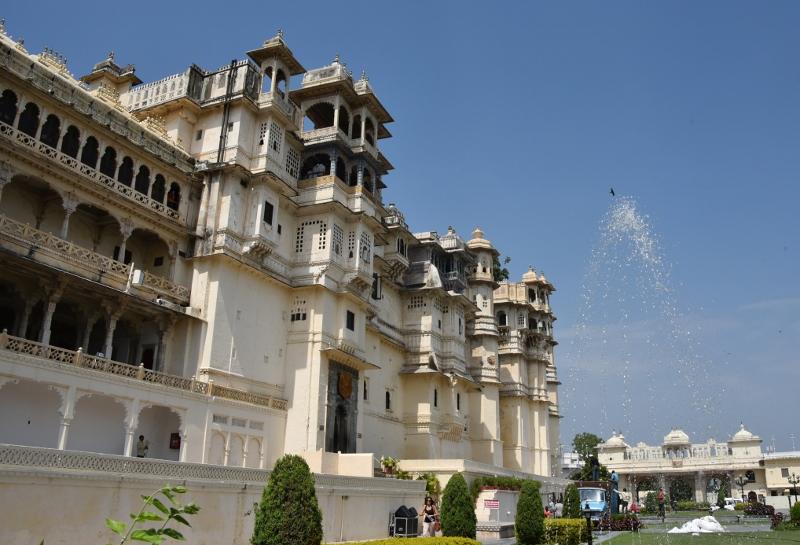 Udaipur - kaupunkipalatsi