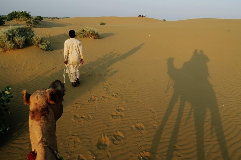 Kamelisafari Rajasthanissa