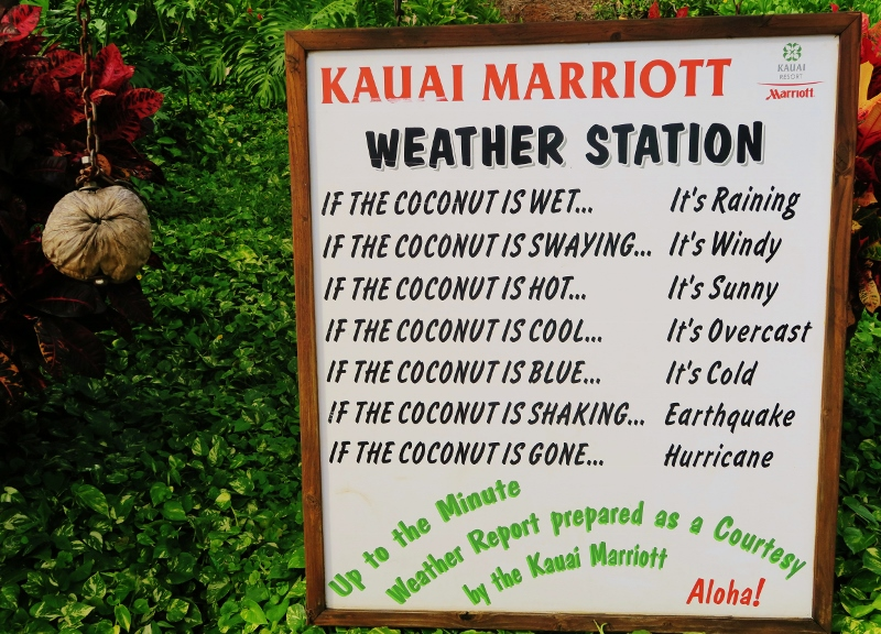 Kauai Marriott, Havaiji