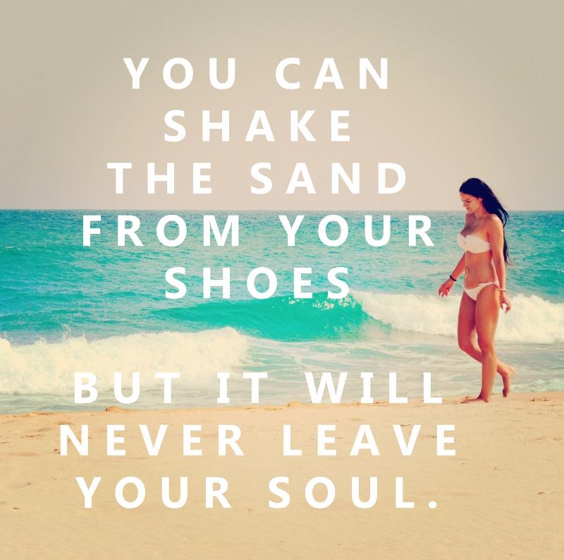 beach travel quote