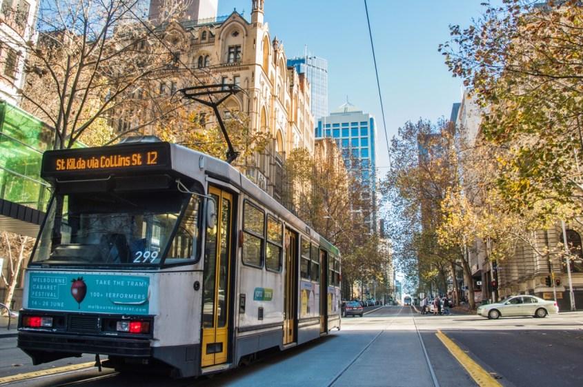 Raitiovaunu Melbournessa