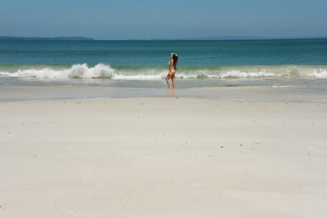Jervis Bay ja maailman valkoisin hiekka