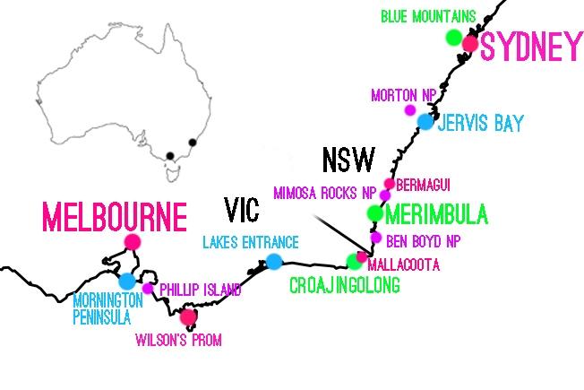 Road Trip Melbournesta Sydneyyn Matkavinkit Ja Kohokohdat