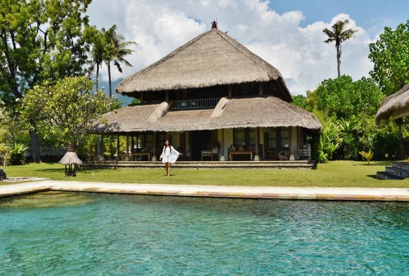 Puri Ganesha villa omalla uima-altaalla, Bali