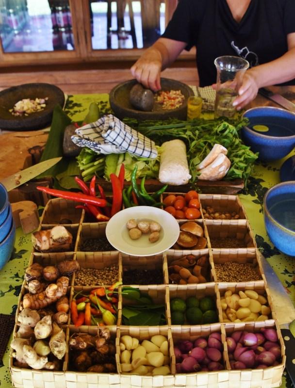 Balilaisessa keittiössä
