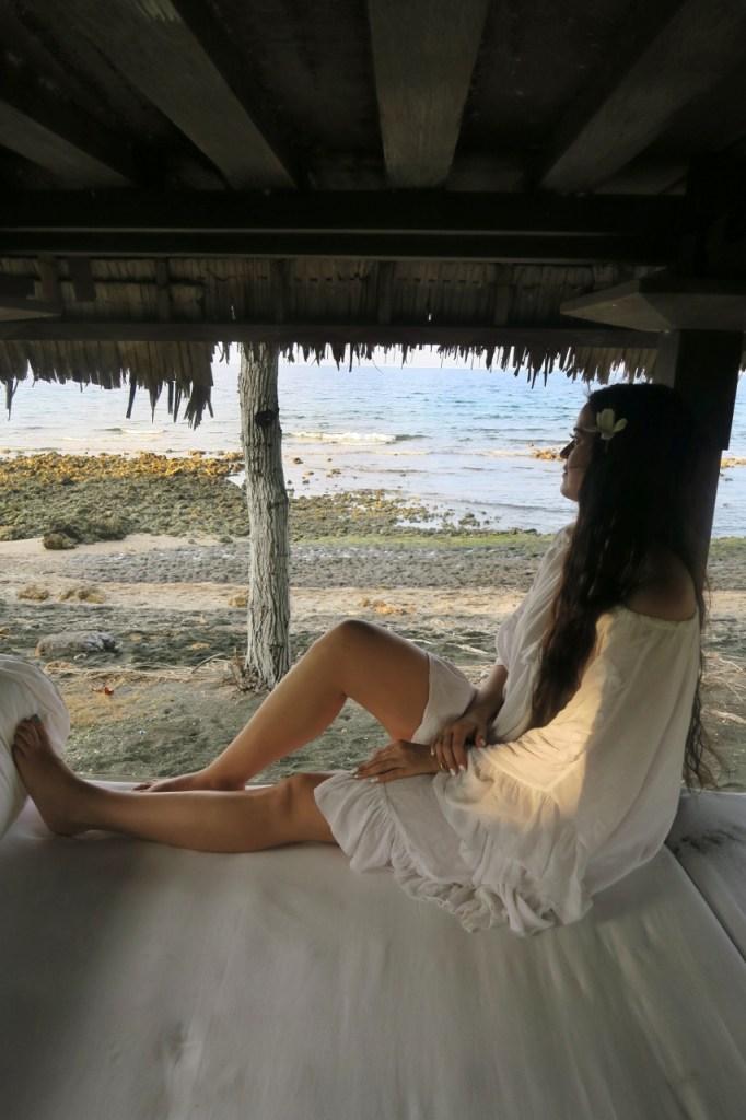 Pemuteranin rannalla Balilla
