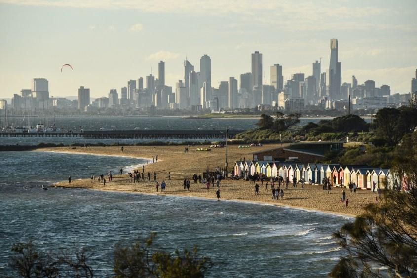 Melbournen rannat