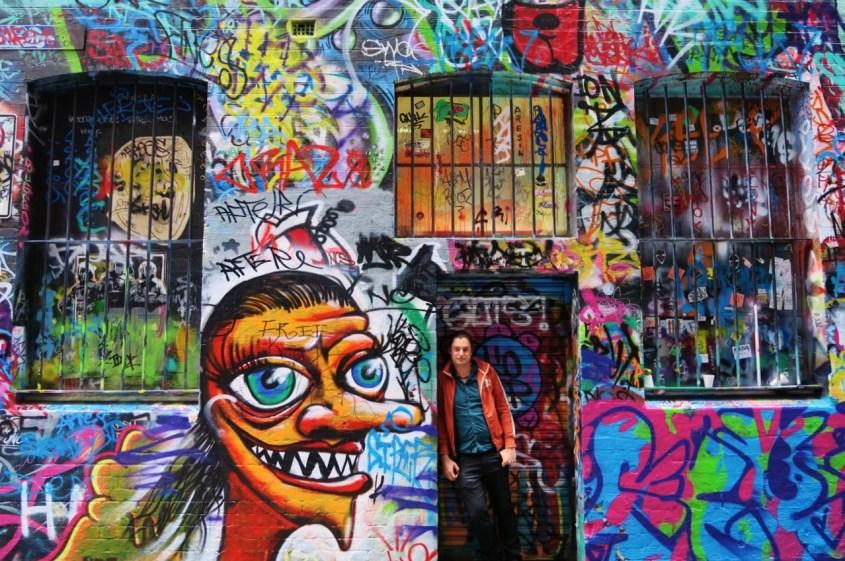 Melbournen street art