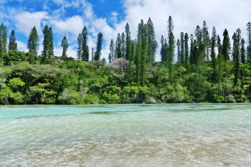 Isle of Pines, luonnon uima-allas, Uusi-Kaledonia
