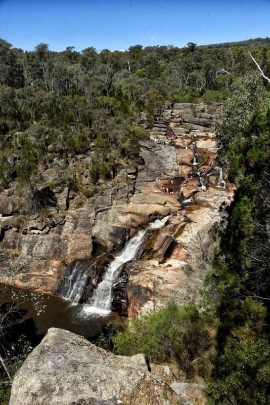 Victorian vesiputouksia, Woolshed Falls