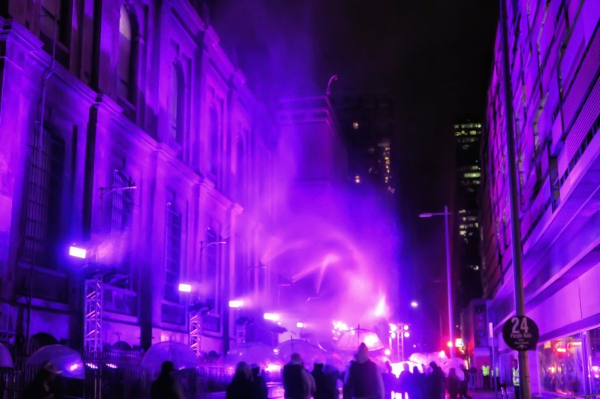 Purple Rain Melbourne White Night