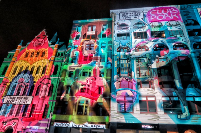 Melbourne White Night 2017