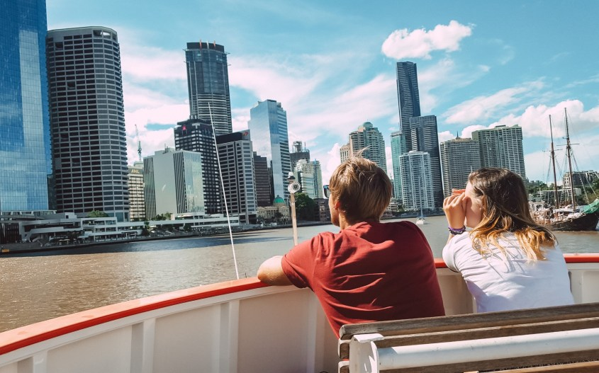 Brisbane kokemuksia   Cityhopper-lautalla