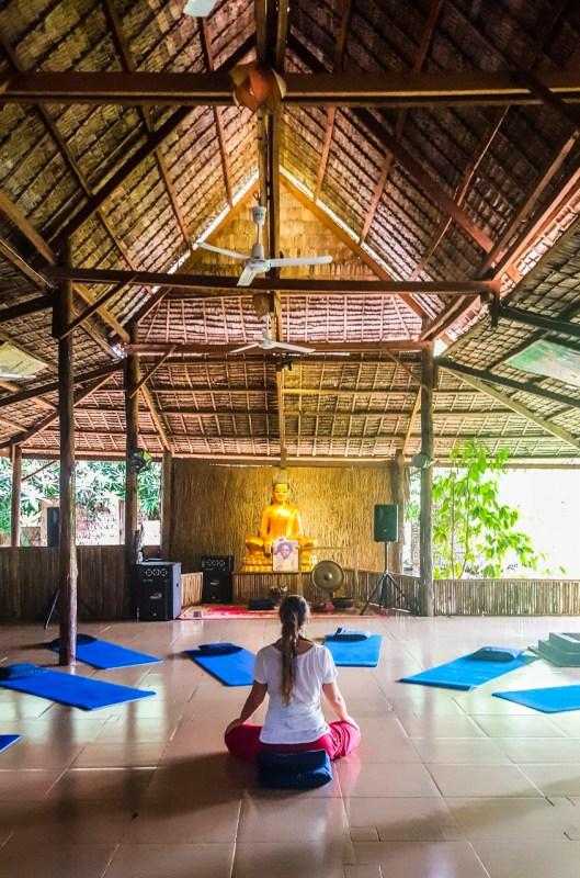 Hariharalaya joogaretriitti Kambodza