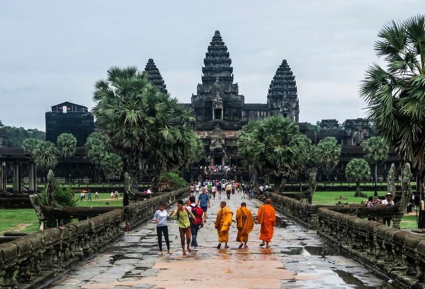 Angkor Wat, Kambodza