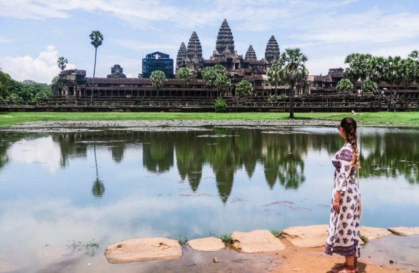 Angkor Wat ja Kambodzan kiehtova temppelialue