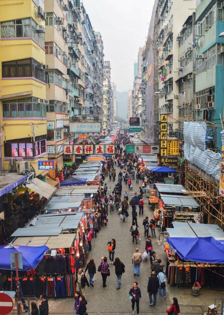 Hongkong nähtävyyksiä | Mong Kokin torit