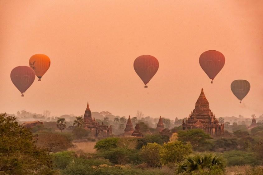 Bagan   Kuumailmapallot