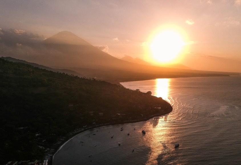 Amed, Bali | Auringonlasku