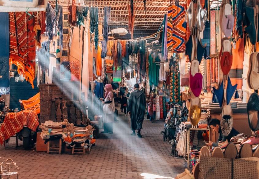 marrakeshin soukit