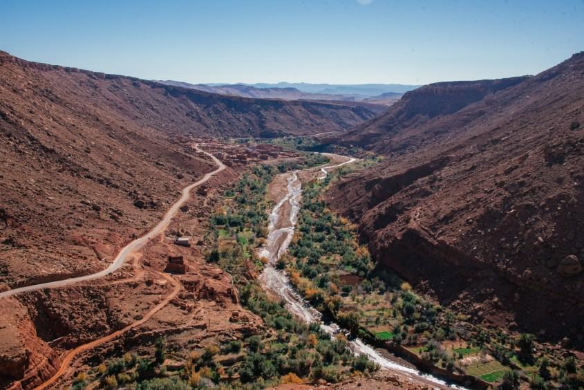 Marokon matka autolla