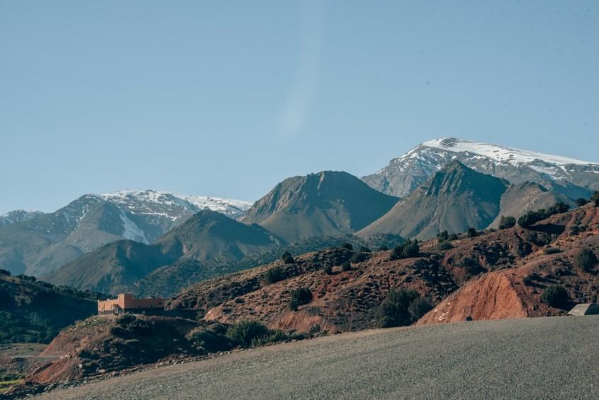 Atlasvuoret Marokossa