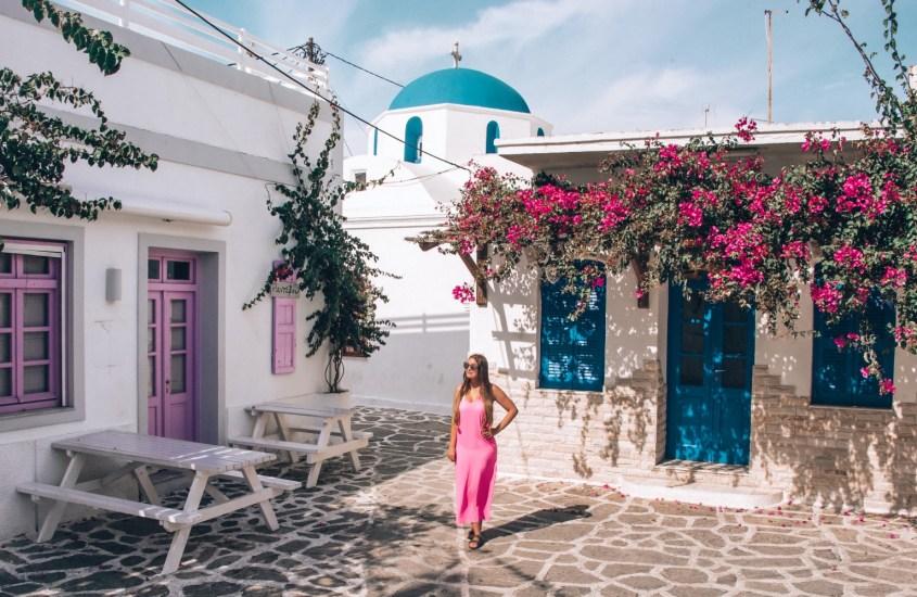 Antiparos – Paroksen idyllinen pikkusisko