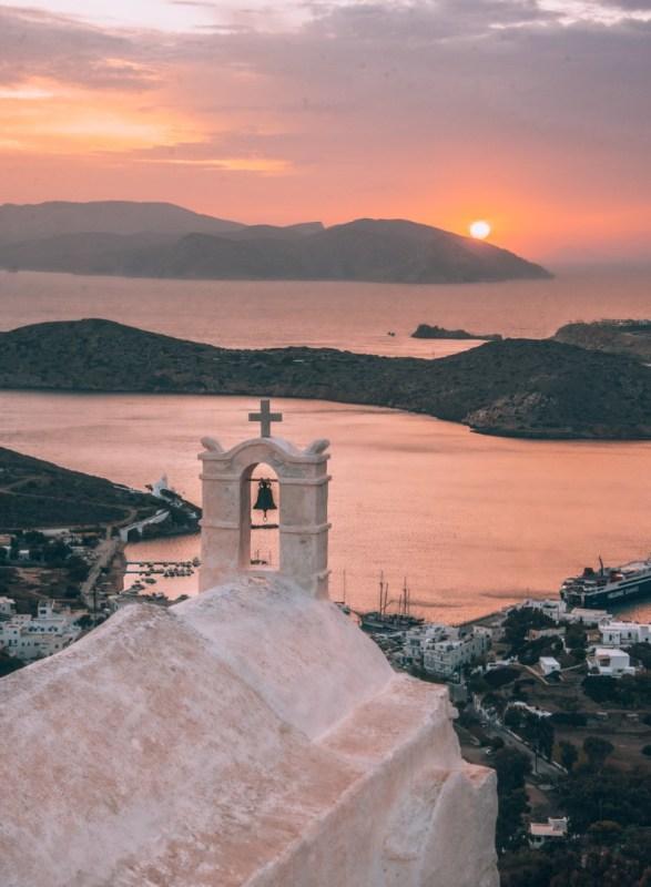 Auringonlasku | Ios, Kreikka