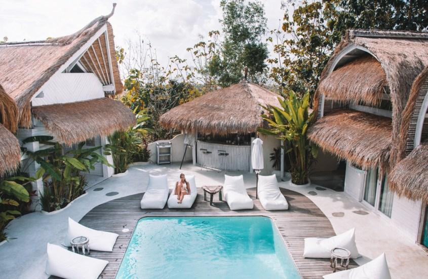 14 uniikkia majoitusta Balilla