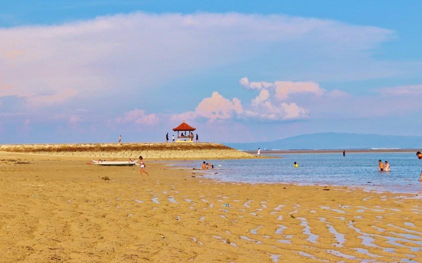 Kohdeopas Bali | Minne Balilla | Sanur Beach